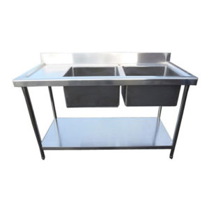 Stainless Steel Sink 1500mm Left Hand Drainer