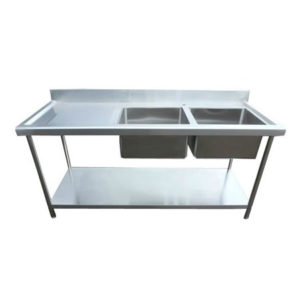 Stainless Steel Sink 1800mm Left Hand Drainer