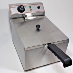 Counter Top Electric Fryer Single Tank 17 Litre