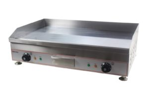 Counter Top Electric Griddle Solid Plate 60cm