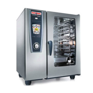 Rational Scc101e 10 Grid Self Cooking Center 1 1gn Electric Combination Oven Drummond Catering