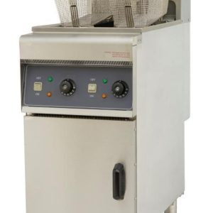 Free Standing 28 ltr Electric Fryer Single Tank