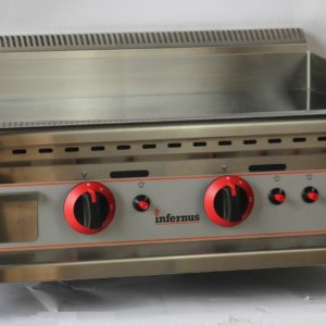Counter Top  Gas Griddle 75cm LPG or NAT