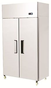 Double Door Upright Dual Temperature Refrigerator