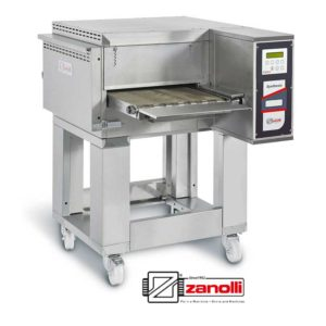 """Zanolli 06/40 V Conveyor Pizza Oven 16"""" Electric or Gas"""