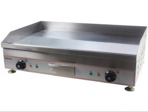 Countertop Electric Griddle Solid Plate 100cm CHROME